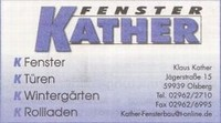 Fenster Kather